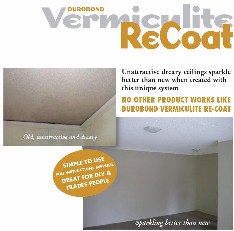 Vermiculite ceiling